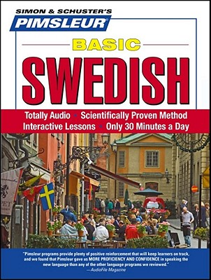 [CD] Swedish, Basic By Pimsleur (COR)